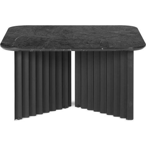 RS Barcelona Medium Plec Table | Marble/Black
