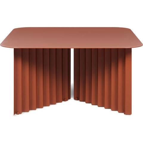 RS Barcelona Medium Plec Table | Metal/Coral