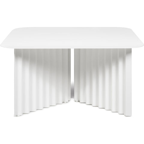 RS Barcelona Medium Plec Table | Metal/White