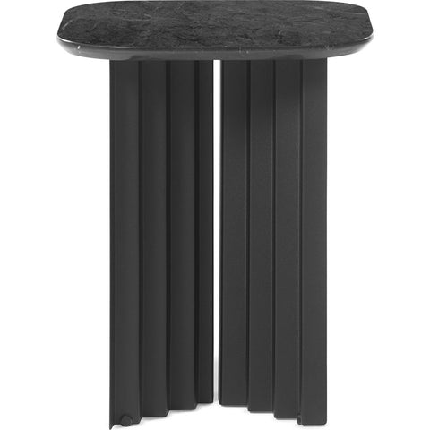RS Barcelona Small Plec Table | Marble/Black