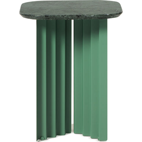 RS Barcelona Small Plec Table | Marble/Green