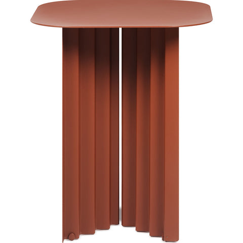 RS Barcelona Small Plec Table | Metal/Coral