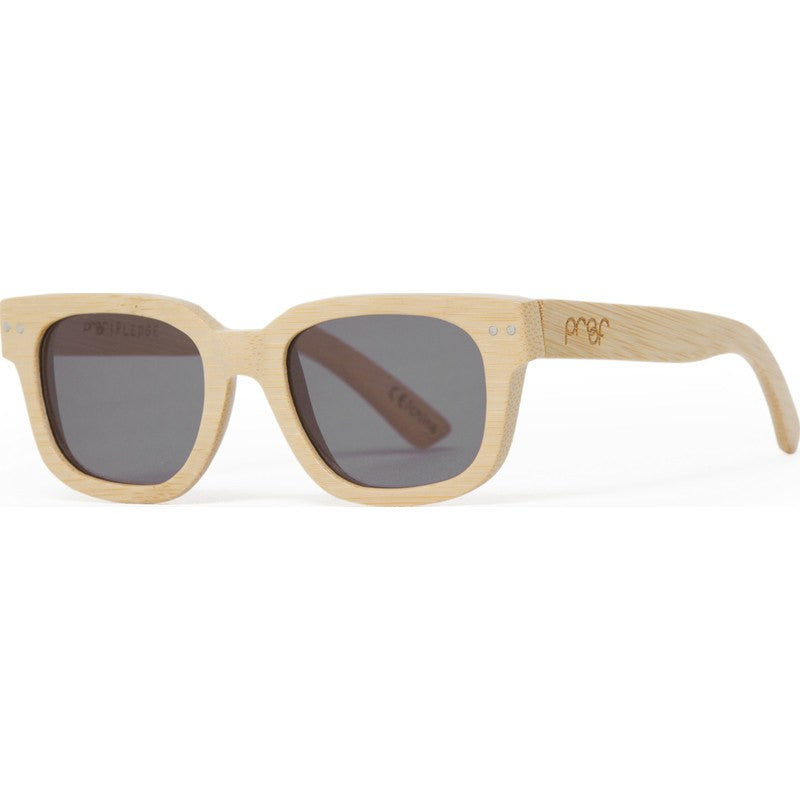 Proof Pledge Wood Bamboo Sunglasses | Gray Lens