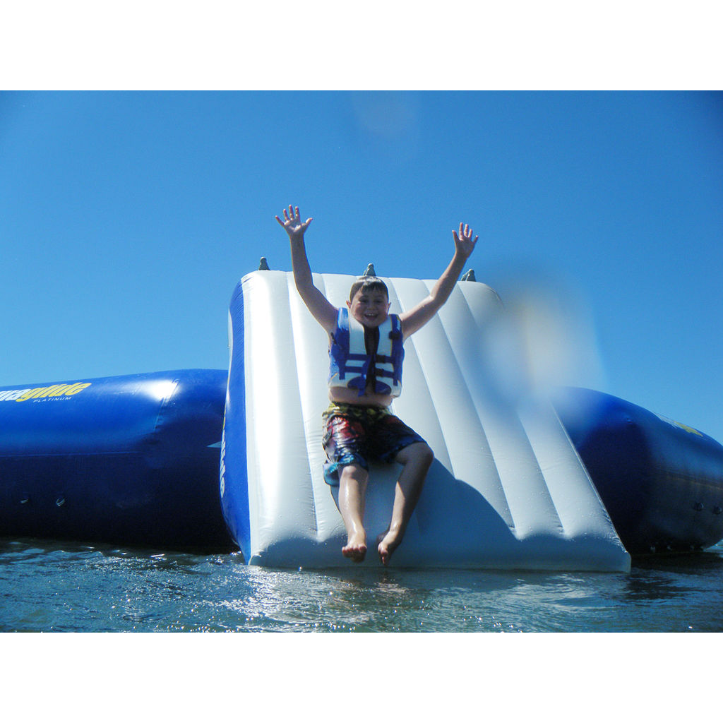 Aquaglide Plunge Inflatable Water Slide | Yellow/Blue/White 58-5209204