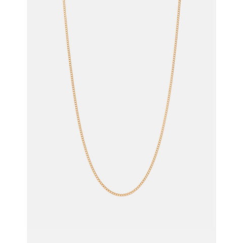 Miansai Cuban Chain Necklace | Polished Gold Vermeil