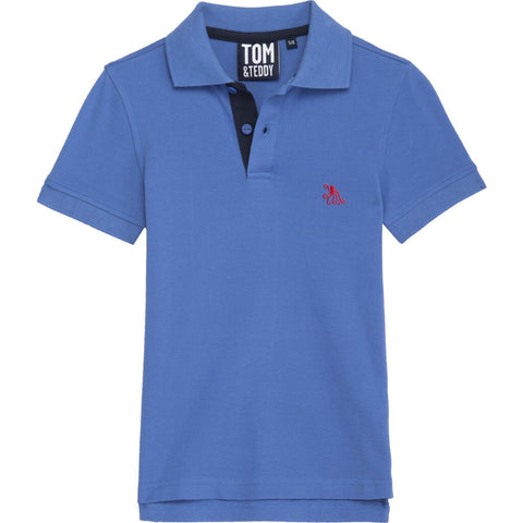 Tom & Teddy Kid's Polo Shirt | Cayenne / 11-12