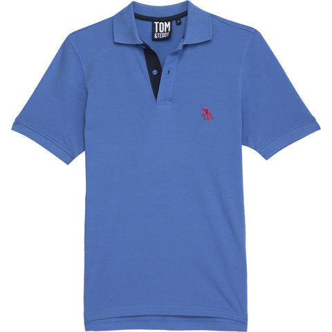Tom & Teddy Men's Polo Shirt | Cayenne / L