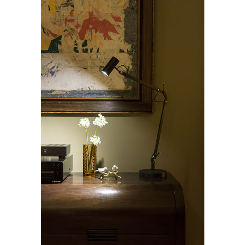 Marset Polo Desk Lamp | Black