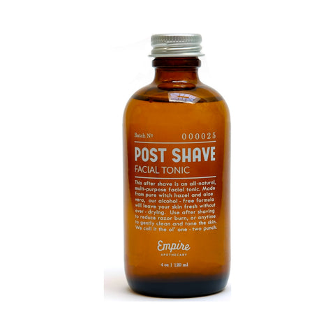 Empire Apothecary Post Shave Facial Tonic | 4 oz EMPIRE06