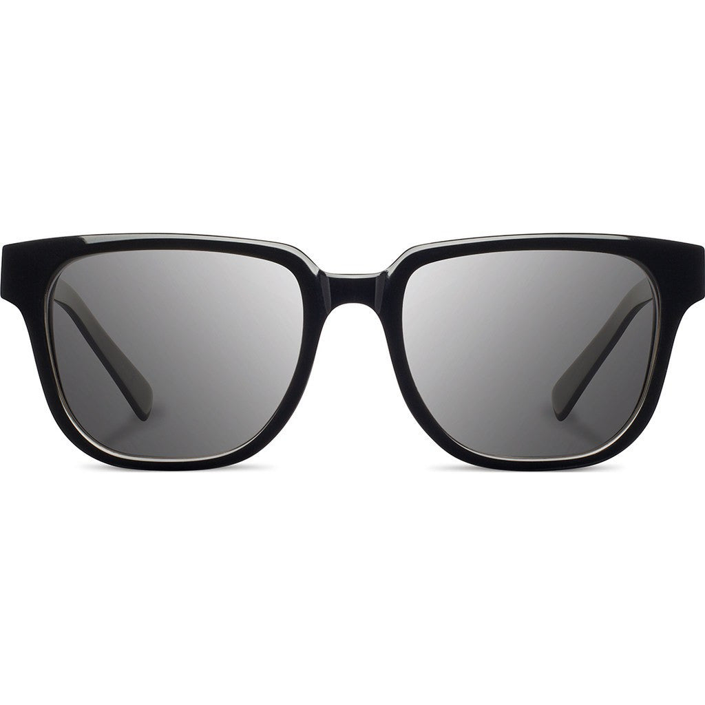 Shwood Prescott Acetate Sunglasses | Black & Ebony / Grey WAPBEBG