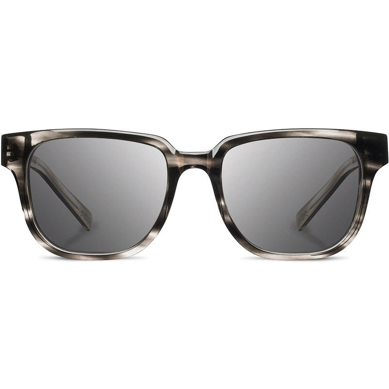 Shwood Prescott Acetate Fifty Fifty Sunglasses | Pearl Grey & Elm Burl / Grey