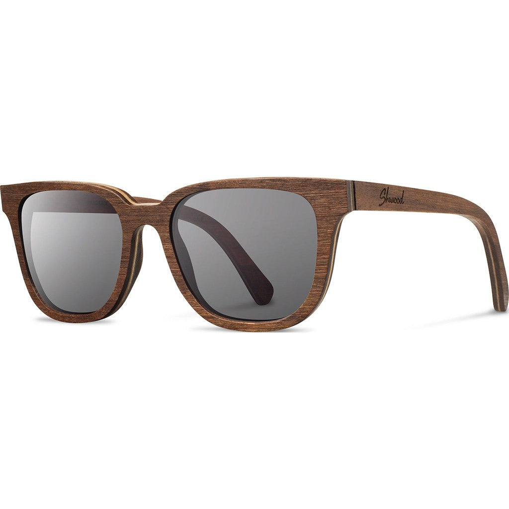 Shwood Prescott Original Sunglasses | Walnut / Grey Polarized WOPWGP