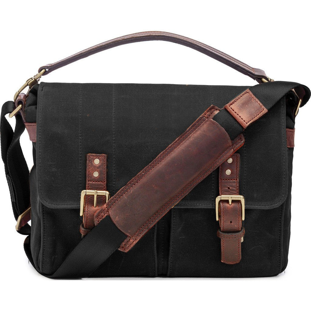 ONA Prince Street Camera Messenger Bag | Black ONA5-024BL