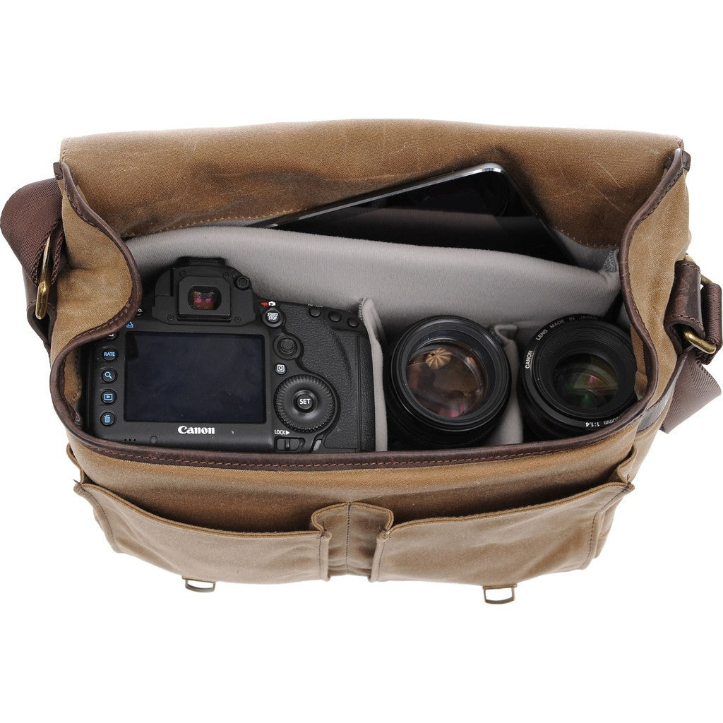 ONA Prince Street Camera Messenger Bag | Field Tan ONA5-024RT
