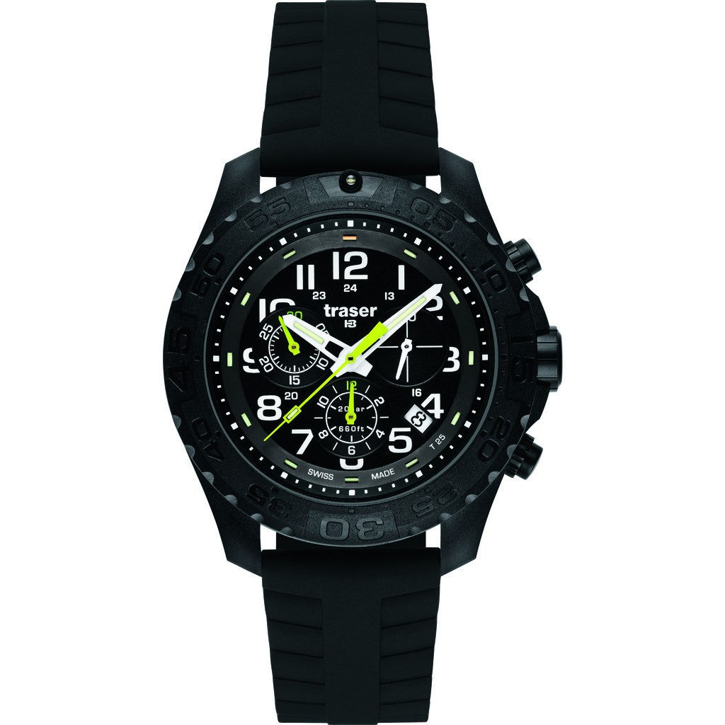Traser H3 Outdoor Pioneer Chronograph 102910 rubber strap