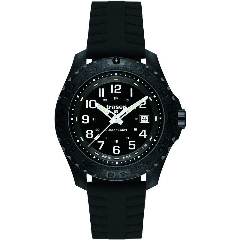 traser H3 Outdoor Pioneer Men's Watch Silicone Strap