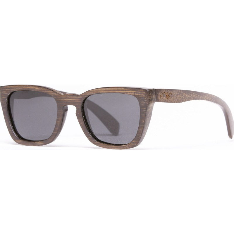 Proof Provo Stained Bamboo Facd Sunglasses | Polarized Lens