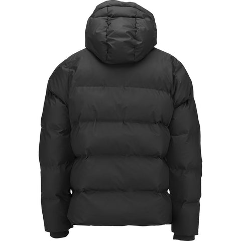 RAINS Waterproof Puffer Jacket | Black 1506 01 Size L/XL