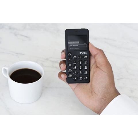 Punkt. MP02 4G Mobile Phone | Black MP020USBLNP000