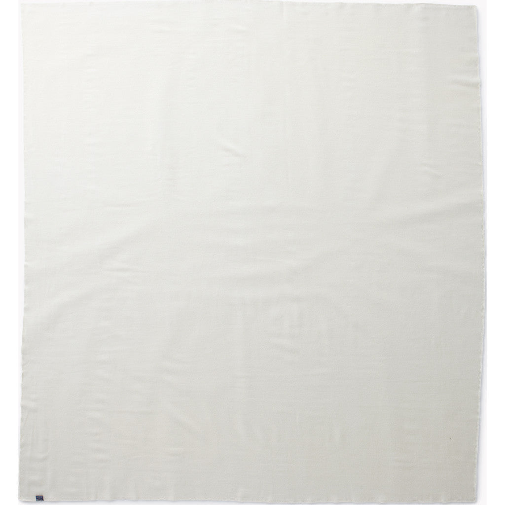 Faribault Pure & Simple Wool Blanket | Bone White 2555 Twin/2548 Queen/2579 King