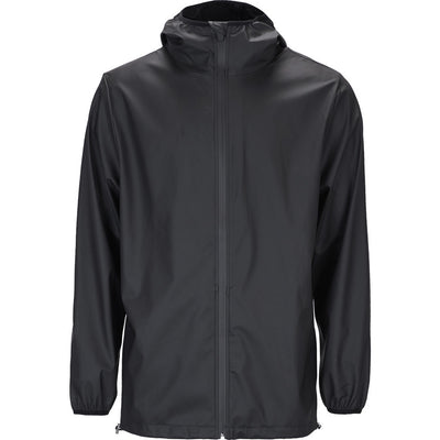 afd683bf1 RAINS Waterproof Camp Anorak Jacket in Black - Sportique