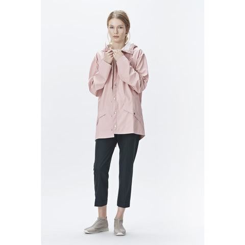 RAINS Waterproof Jacket | Rose