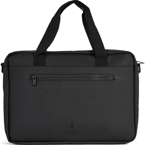 RAINS Waterproof Pace Laptop Briefcase | Black 1282