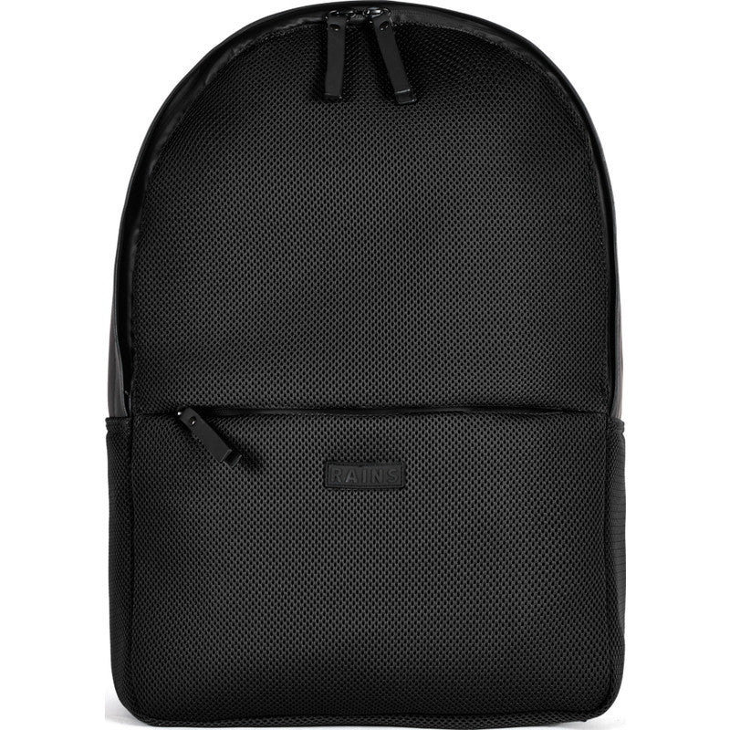 RAINS Waterproof Mesh Backpack | Black