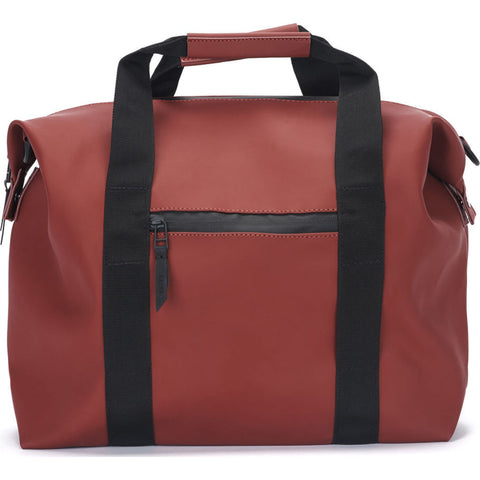 RAINS Waterproof Zip Mini Duffel Bag | Scarlet 128120