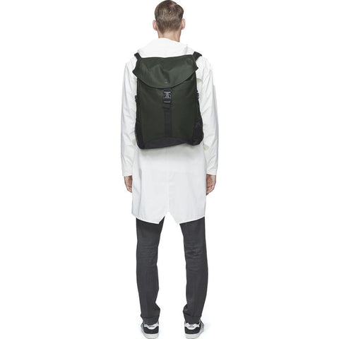 RAINS Waterproof Runner Backpack | Green