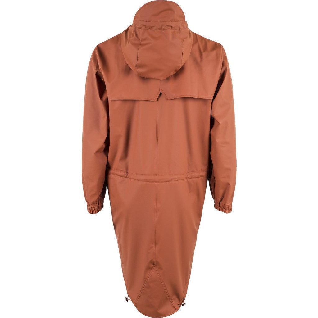 RAINS Waterproof Parka Coat | Rust 1233 S/M