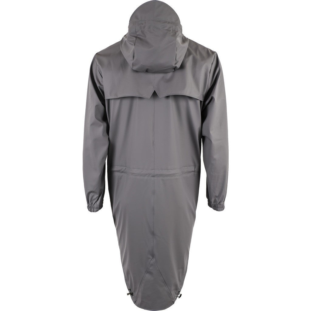 RAINS Waterproof Parka Coat | Smoke 1233 S/M