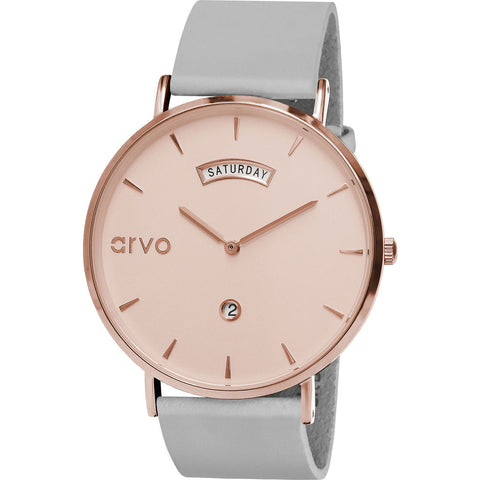 Arvo The Rose Awristacrat Watch | Gray- RAWRGL40