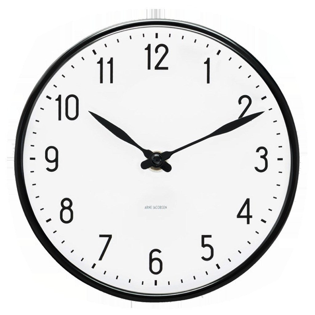 Arne Jacobsen Station Clock 290/480 | White 43643/43663