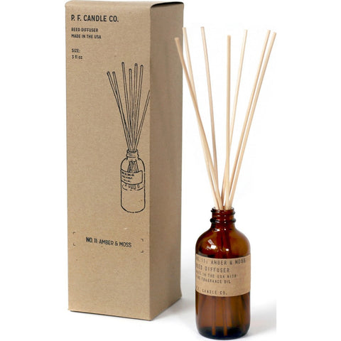 P.F. Candle Co. Diffuser 3 oz. | Amber & Moss RD11