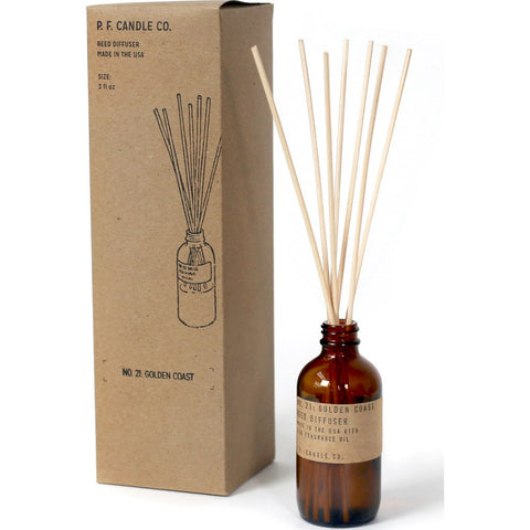 P.F. Candle Co. Reed Diffuser | Golden Coast 3 oz RD21