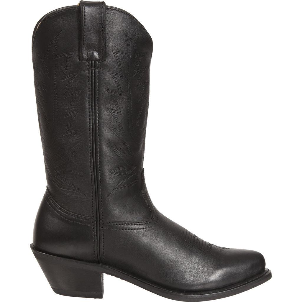 Durango Women's Leather Western Boots | Black D4100