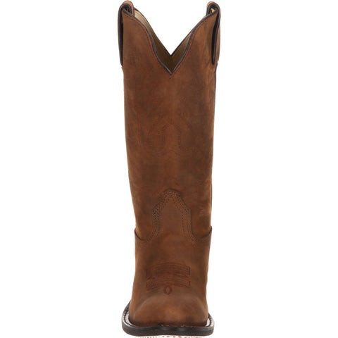 Durango Women's Leather Western Boots | Tan D4112