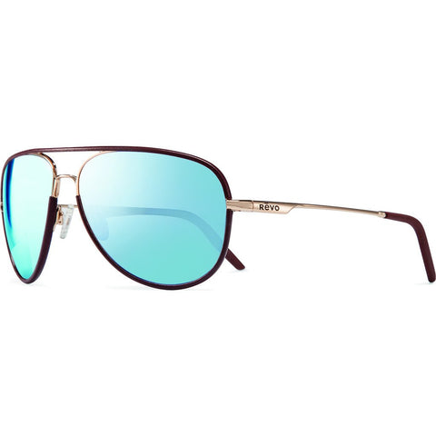 Revo Eyewear Carlisle Gold Sunglasses | Blue Water RE 1030 04 GBL