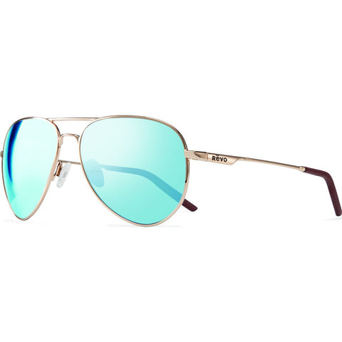 Revo Eyewear Observer Gold Sunglasses | Blue Water RE 1033 04 BL