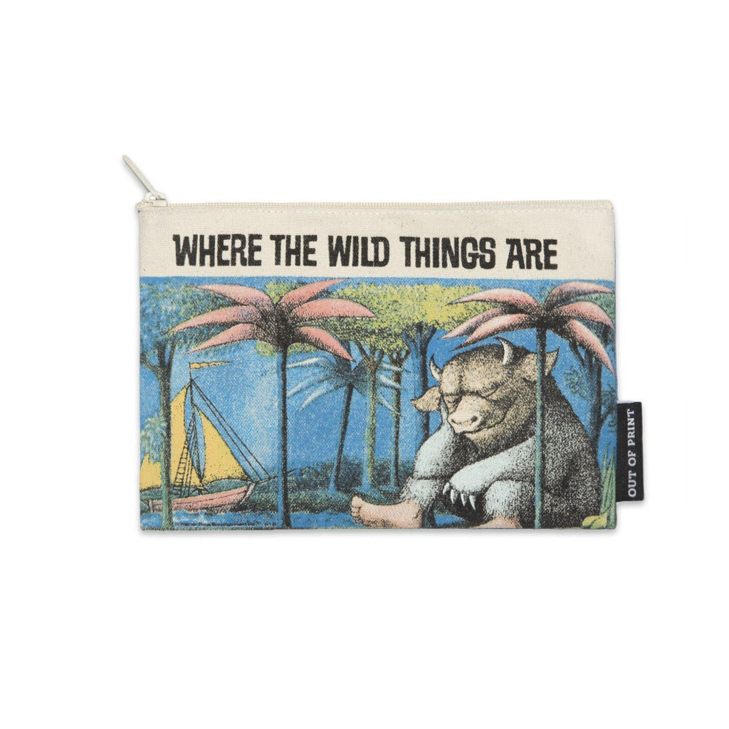 Out of Print Where the Wild Things Are Pouch | Multi RECC-1015