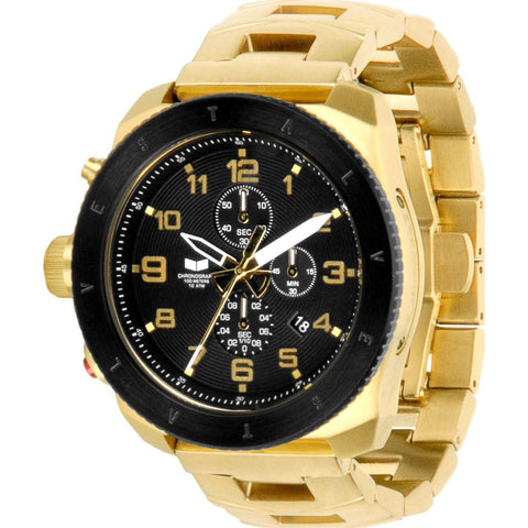 Vestal Restrictor Watch | Gold/Black RES013