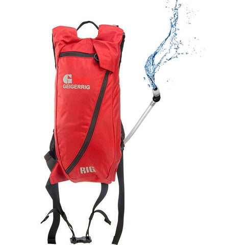 Geigerrig The Rig Hydration Backpack | Red