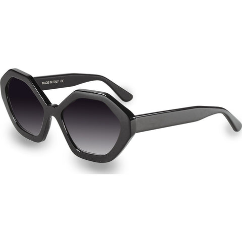 Velvet Eyewear Rita Black Sunglasses | Grey Fade V016BK05