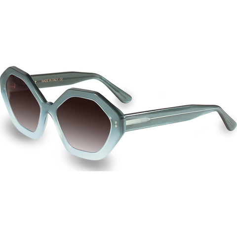 Velvet Eyewear Rita Sea Foam Sunglasses | Brown Fade V016SF01