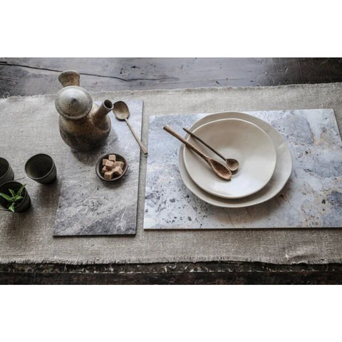 Beija Flor Marble Placemats Set of 4 | Grey/Gold