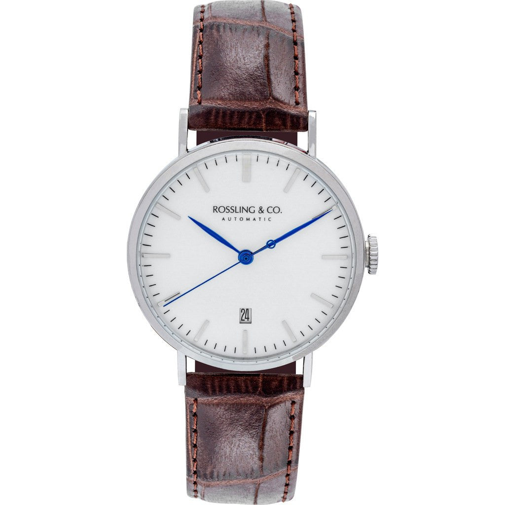 Rossling & Co. Metropolitan Automatic Watch | White RO-004-003
