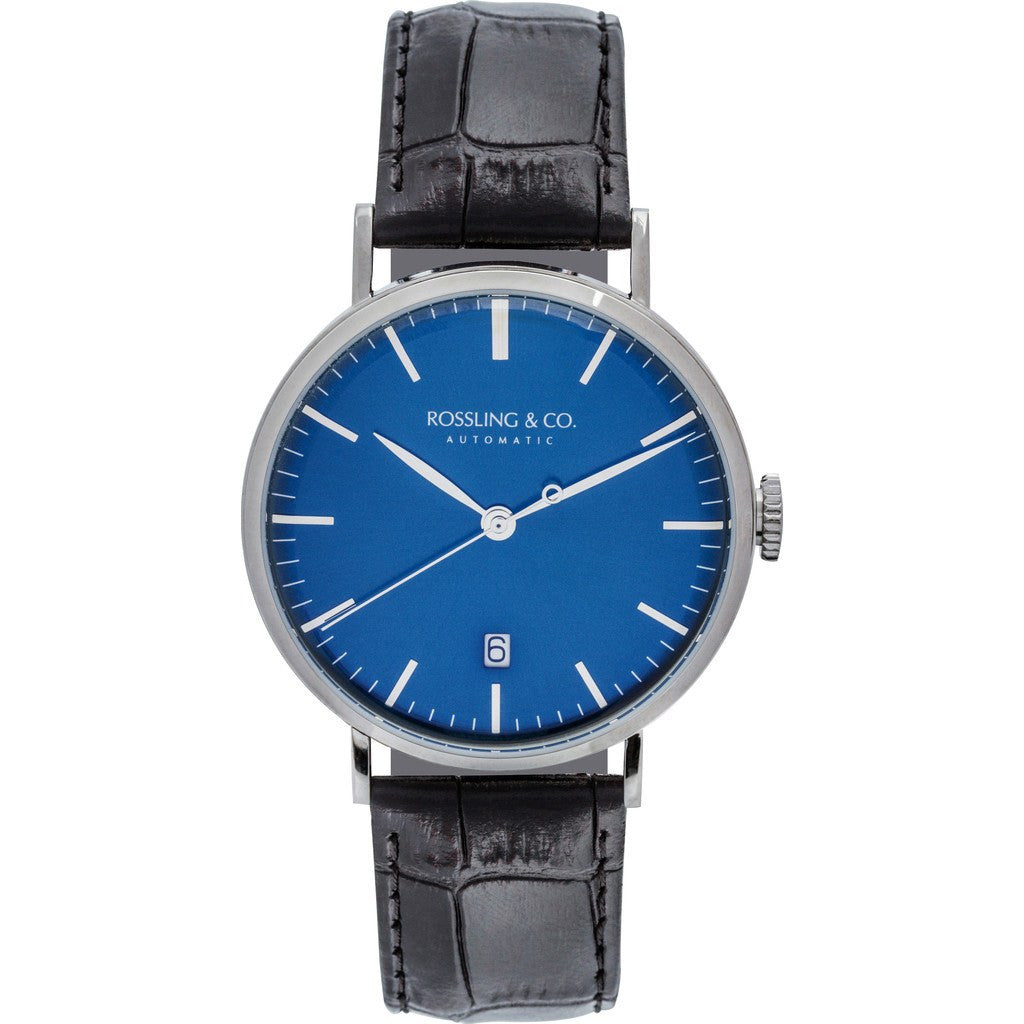 Rossling & Co. Metropolitan Automatic Watch | Blue RO-004-005