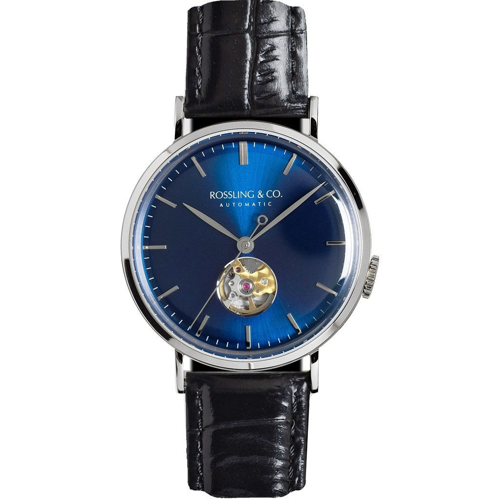 Rossling & Co. Metropolitan Automatic Watch | Blue RO-004-006
