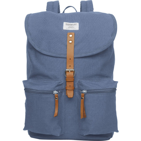 Sandqvist Roald Backpack | Dusty Blue